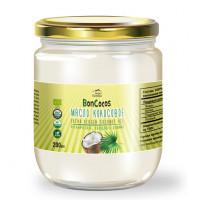 Масло кокосовое органическое холодного отжима (Virgin Coconut Oil), BONCOCOS, 200мл