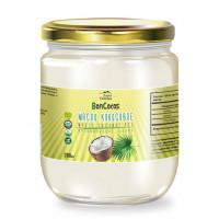 Масло кокосовое холодного отжима, органика БЕЛОЕ (с мякотью кокоса), BONCOCOS, 200мл, ст/б
