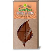 Шоколад молочный из Кэроба необжаренного, 75г.