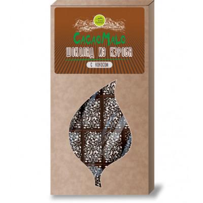 Шоколад из Кэроба необжаренного с кокосом, 85г.
