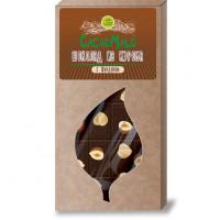 Шоколад из Кэроба необжаренного с фундуком, 85г.