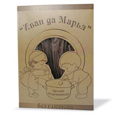 Лапша гречневая безглютеновая, Иван да Марья, 250г