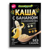 Каша овсяная с бананом | 30 г | Компас Здоровья
