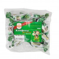 Конфеты Молочные с кунжутом с фруктозой 200г ТМ СахарOFF