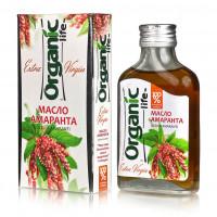 Масло пищевое нерафинированное амарантовое, 100 мл, Organic Life