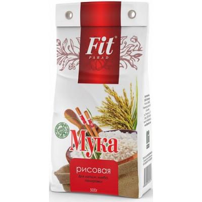 Мука рисовая, ФитПарад, 500 г