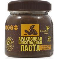 Арахисовая шоколадная паста с финиковым сиропом, Evolution Food, 250 г