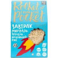 Готовый сухой завтрак мюсли Миндаль-Фундук-Воздушный рис, Байт, 270 г