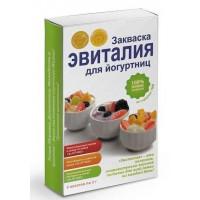 Закваска для йогуртниц, Эвиталия, 5*2 г