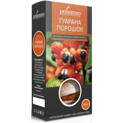 Гуарана порошок, Polezzno, 100 г