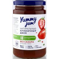 Джем клубничный низкокалорийный, Yummy jam, 350 г