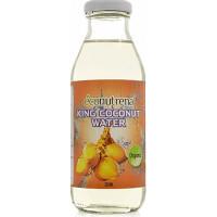 Кокосовая вода из королевского жёлтого кокоса, Econutrena, 350 мл, ст/б