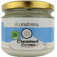 Органический кокосовый крем Econutrena, 68%, 300 мл, ст/б