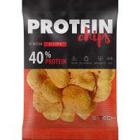 Протеиновые чипсы Бекон, S-Tech, 50 г
