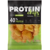 Протеиновые чипсы Сметана и зелень, S-Tech, 50 г