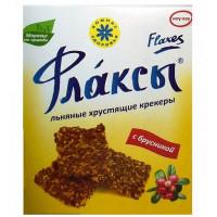 Флаксы с брусникой льняные, Компас Здоровья, 150 г