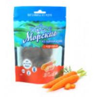 Морские чипсы из ламинарии с морковью, Здоровцов, 90 г