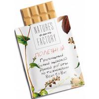 Белый шоколад с гречишным чаем, Nature's own factory, 20 г