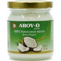 Кокосовое масло (extra virgin) 100%, AROY-D, 180 мл, ст. б.