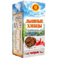 Хлебцы льняные ОСТРЫЕ, Тиавит, 80 г
