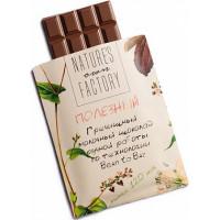 Молочный шоколад с гречишным чаем, Nature's own factory, 20 г