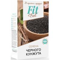 Семена черного кунжута, Fit Feel, 150 г